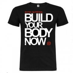 Camiseta Scitec Nutrition Build