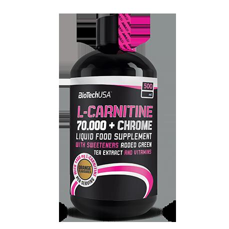 L-Carnitine 70.000 mg + Chrome 500 ml