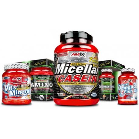 Pack Profesional para mantener peso y mejorar rendimiento A
