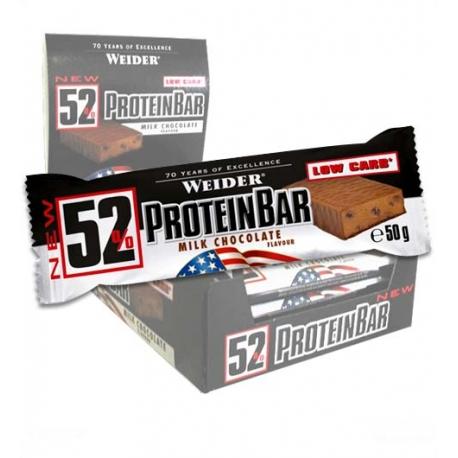52% Protein Bar 12 Barritas x 50 gr