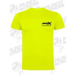 Camiseta AMIX mangas cortas amarilla
