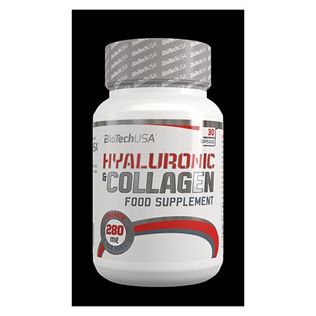 Hyaluronic & Collagen 30 caps.