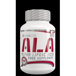 ALA alpha lipoic acid 50 caps.