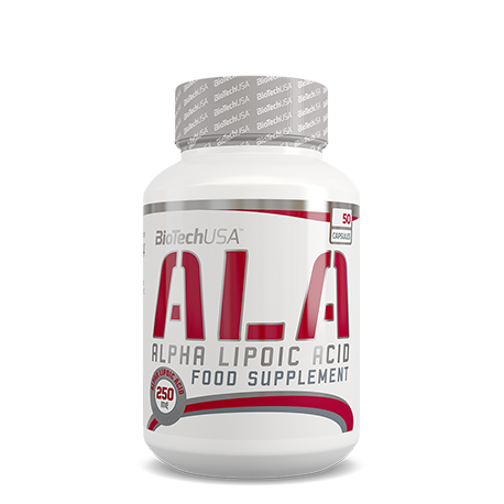 ALA alpha lipoic acid 50 caps.